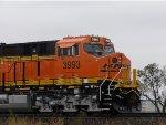 BNSF ET44C4 3993