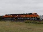 BNSF ET44C4s 3993 & 3966
