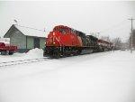 CN 8804, BCOL 4642, CN 2273 at MILW Neenah, WI Depot