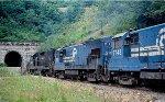 CR GP38-2 8151 and U23B 2719