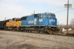 Conrail power moves the freight