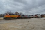 BNSF 4657 with the TULKCK
