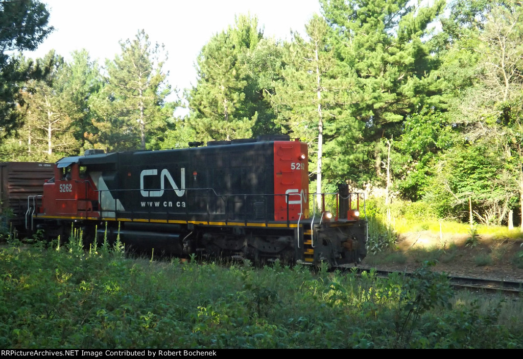 CN SD40-2W 5262 Whiting, WI_7-13-16
