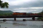 BNSF C449W 5008 at Perrot Stae Park,