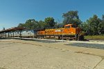 BNSF leads AMTRAK at La Crosse, WI_9-12-16