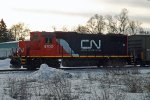 CN GP38-2 4700 at Stevens Point, WI_3-6-16