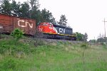 CN SD40-2W 5289 Whiting, WI_6-12-16