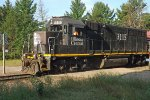 Illinois Central GP40-R 3115 at Strange Street, Whiting, WI_7-22-16