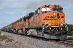 Grain train rolls west