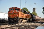 DPU on westbound grain train