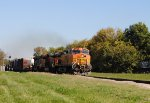 BNSF 4763 West; H-GALTUL