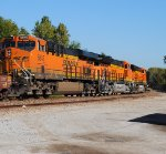 BNSF 6609 East with new Tier 4 Motor; Q-LACMEM