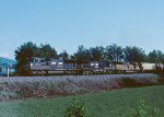 NS #165 heads west to meet #P87 at Old Fort.