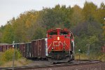 CN 8838 waits with a southbound manifest just north of Midway Road
