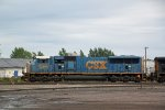 CSX 4772 leads a light engine move out of the BNSF yard toward LST&T Junction