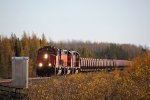 CN 5338 gets the northbound taconite underway again