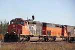 CN 5338 hangs a right at the wye switch into United Taconite