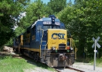 CSXT 2263 on the Oakland Industral Spur