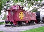 Kingman town caboose, ex-ATSF 999520