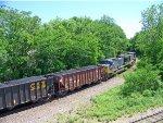CSx coal train U670