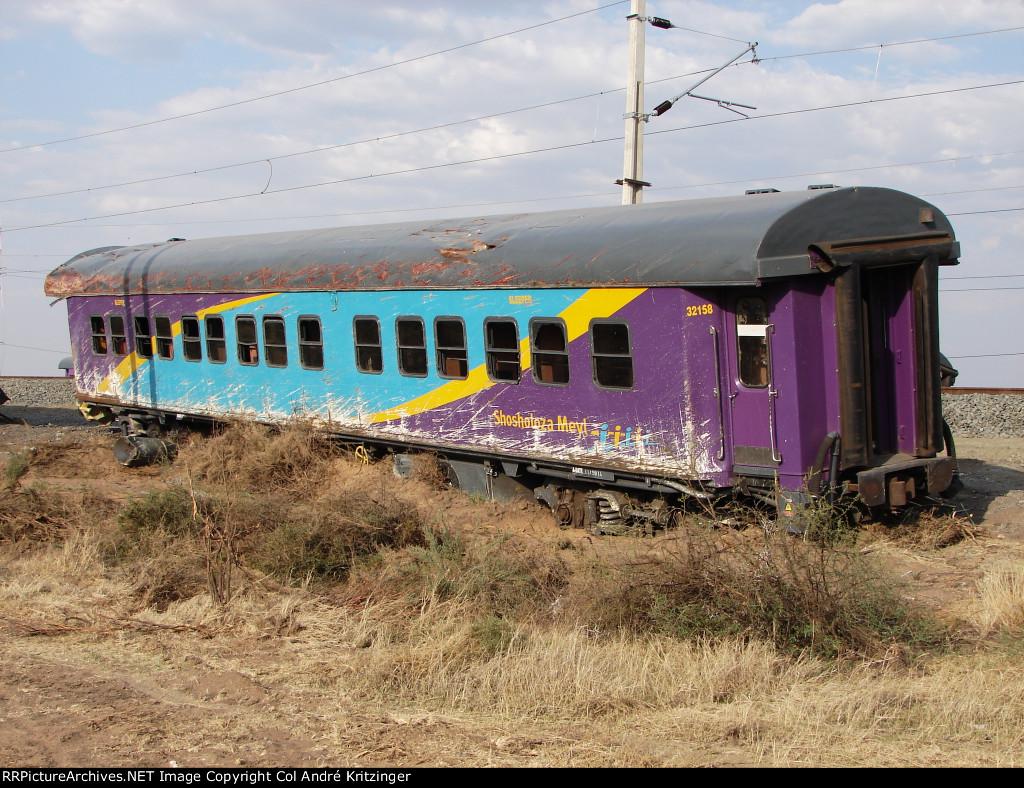 First Class sleeper coach no. 32158