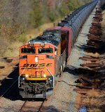 BNSF 9141 CSX Train K144 Crude Oil Loads