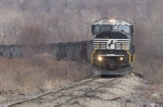 NS 7206 on rough track