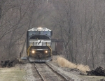 NS 7206 on some very questionable track