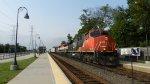 M346 With 2 EX-BC Rail