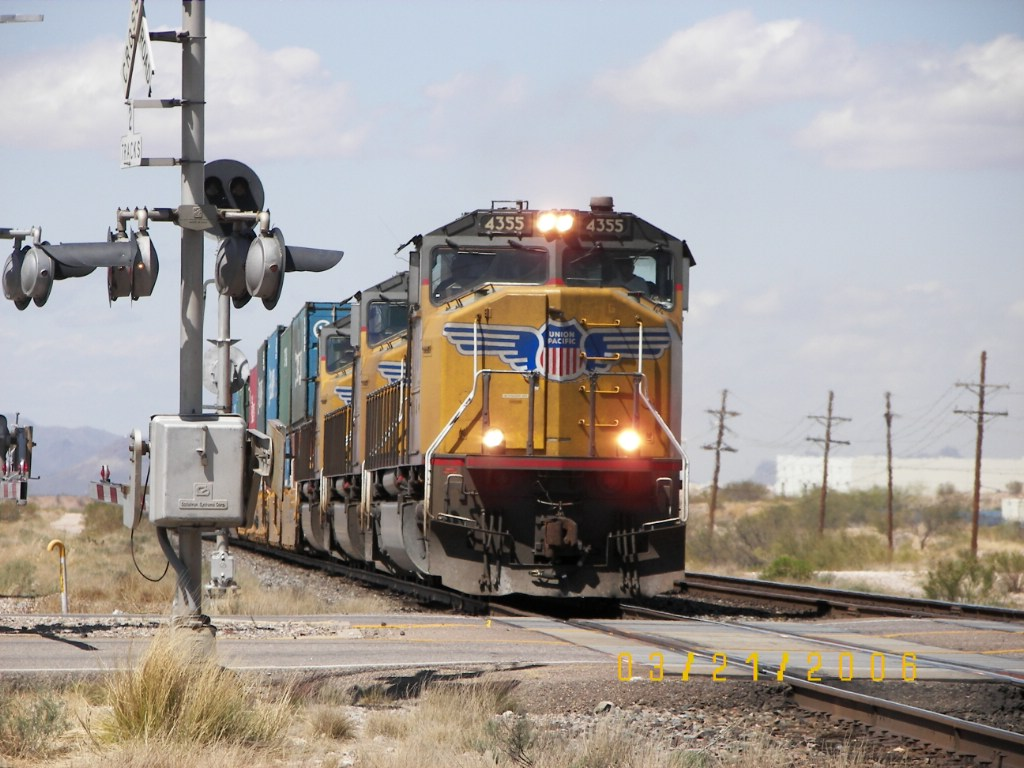 UP SD70M 4355