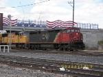 CN C40-8M 2442