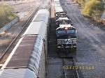 Eastbound Intermodal and Westbound Autorack