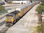 Eastbound Autorack Train