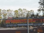 BNSF ET44C4 in BNSF's Harvard Yard