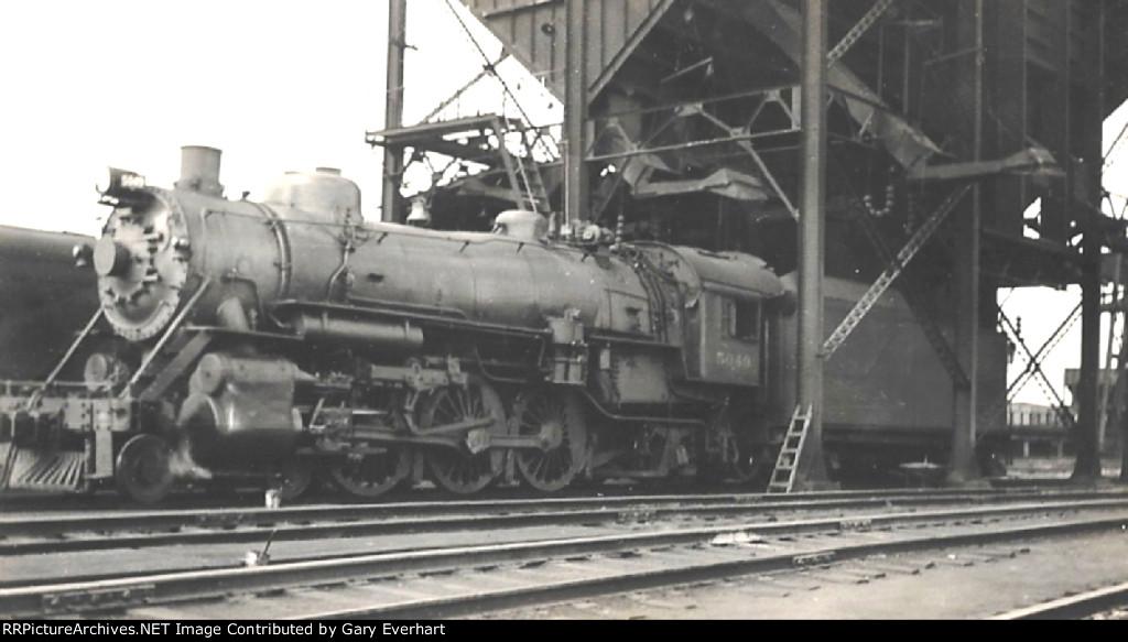 BO 4-6-2 #5049 - Baltimore & Ohio