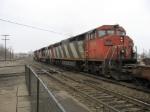CN 2408 trailing westward