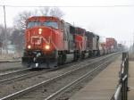 CN 5730 leading Q149 west