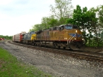 UP 5770 & CSX 351 leading train E251