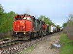 CN 5432 & 5757 leading A456 down the Holly