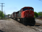 CN 5617 & 2569 lead an eastbound general freight
