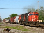 CN 5714 & 5772 bringing M399 west with 149 cars