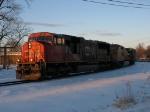 CN 5747 & UP 9545 rounding the Chicago Wye