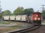 CN 5530 & 5331 backing around the Chicago Wye towards the rest of M398