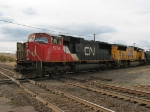 CN 5762 & UP 4742 pulling out of the yard