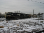 NS 9796 leading around the Chicago Wye