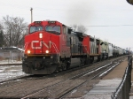 CN 2543 lead west with then brand new KCS 4022 in tow