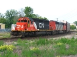 IC 6256 & CN 5562 lead A480 around the Chicago Wye