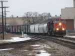 CN 2613 storms through town leading M390