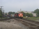 CN 5715 leading eastbound