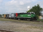 HESR 5492, CMGN 2001 & 8903 shoving 702 into the yard